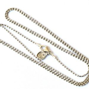 "Silpada Sterling Silver 36"" Chain Charm Necklace"